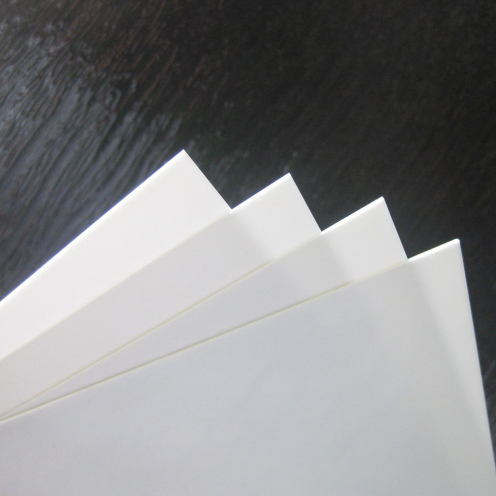ABS09 16pcs Mixed Thickness ABS Styrene Sheets 200 x 250mm White NEW 0 5mm 1mm 1