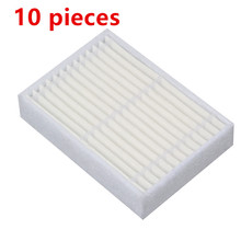 10 pieces/lot Robotic Vacuum Cleaner HEPA Filter for midea mvcr03 VCR15 VCR16 Robot Vacuum Cleaner Parts Accessories цена и фото