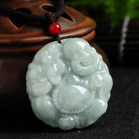 Natural stone Buddha Pendant genuine Buddha Pendant pendant felicitous wish of making money with certificate