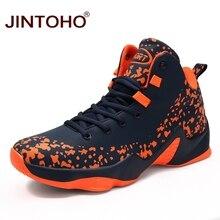 JINTOHO новые мужские баскетбольные кроссовки брендовые баскетбольные кроссовки уличная спортивная обувь дышащая Спортивная обувь Zapatos
