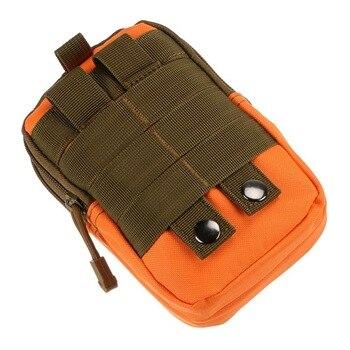 84b5c6914274 Тактическая поясная сумка мобильного телефона пакет Спорт Мини вице-карман  для BQ BQS-5520 4040 4001 4004 4008 4010 4502 4503 4505 4525