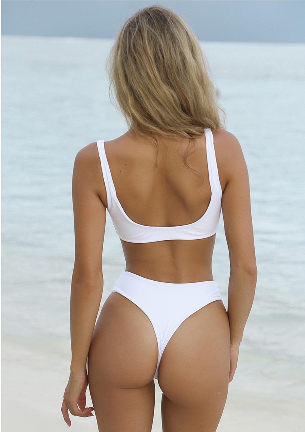 HTB1tYKLRVXXXXbFaXXXq6xXFXXXd - Summer sexy Beach Bikini Double wrapped chest Women Beach swimsuit Underwear Bra sets JKP388