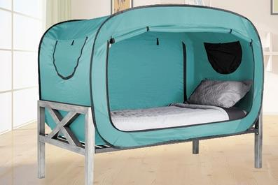 Privacy Automatic Pop Up Speed Open Single Person Dormitory Indoor Meditation Yoga Bed Tent Beach Fishing Outdoor Camping Tent