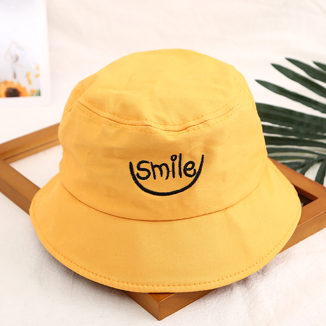 Hot selling 2018 New style boys and girls spring and summer students Bucket Hats  popular style cap for couple 2c44011ea0a