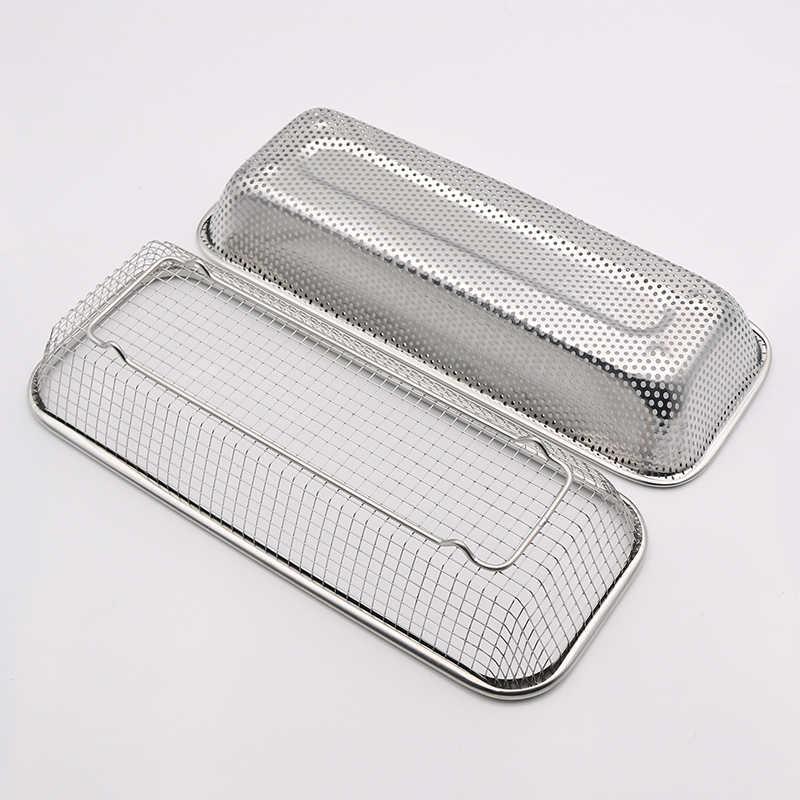 Bacchette di acciaio inossidabile gabbia titolare bacchette di scarico Cucchiaio Posate scatola di immagazzinaggio cesto di frutta di scarico cucina organizzatore