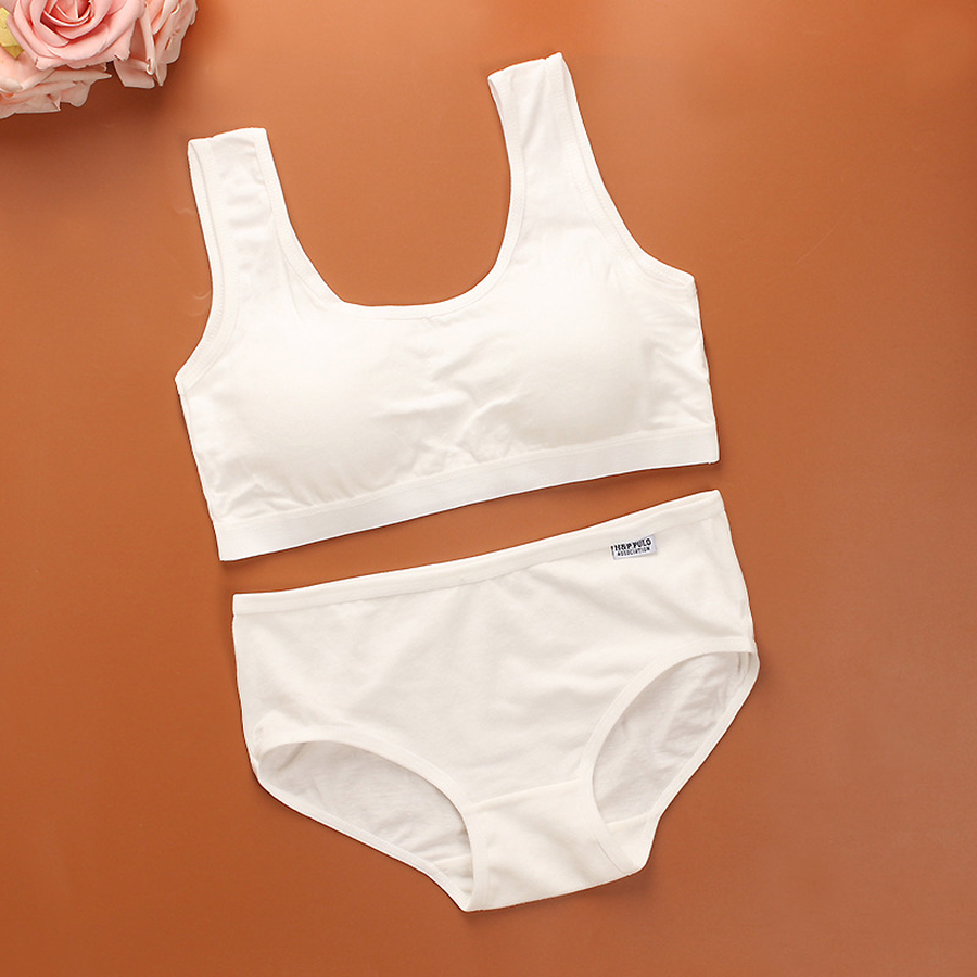 Famli Sport Yoga Bra Set For Teen Kids Girls Free Size -9686