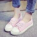 Zapatos де mujer женщины мода весна и лето кружева обувь леди холст прохладный street обувь симпатичные стильная обувь для подросток