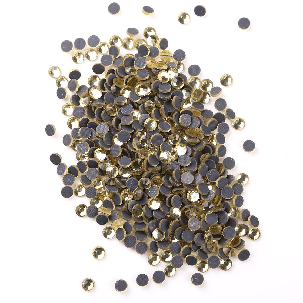 Стразы ss6 (19 20 мм) dmc горячей фиксации кристалл ab/прозрачные