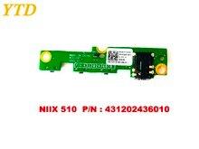 Оригинальная плата переключателя питания для Lenovo MIIX510 NIIX 510 PN 431202436010 протестирована хорошая бесплатная доставка