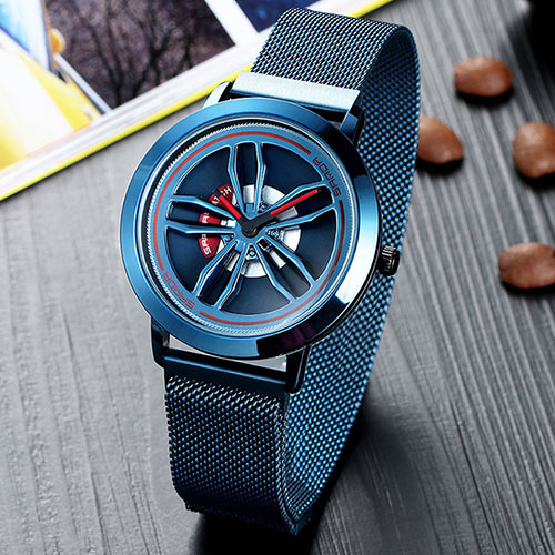 SANDA Quartz Watch Men Watches Dress Original Brand Wristwatch New Creative Male Wrist