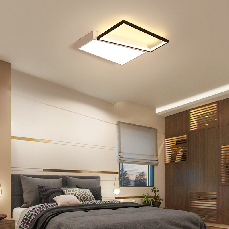 US $84.52 30% OFF|Vintage Bedroom Ceiling Lamps With Remote Controller  Dimming Led Ceiling Light For Study Room Modern Lighting Fixture-in Ceiling  ...