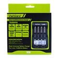 新しいvaricore v40 lcdバッテリー充電器3.7ボルト18650 26650 18500 16340 14500 18350リチウムバッテリー1.2ボルトaa/aaaニッケル水素電池
