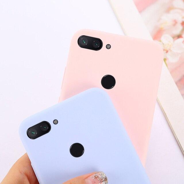 Mềm Silicone Bìa Đối Với Huawei Honor 7C 7A Pro 9 10 Lite 8X 8C 8A Y5 Y6 Thủ 2018 P9 p10 P20 Lite P Thông Minh P30 Pro Trường Hợp Kẹo