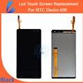 Ll comerciante venda quente aaa qualidade original para htc desire 600 LCD Screen Display Toque Digitador Assembléia Ferramentas + Free grátis