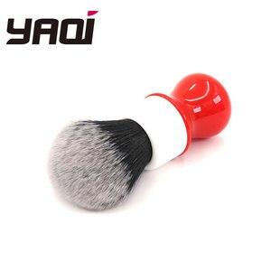 Image 5 - Pennello da barba Yaqi 26mm, versione bianca, rigida, con nodo smoking
