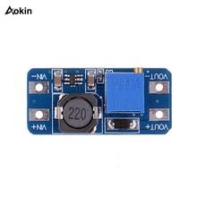 1 шт. MT3608 DC-DC повышающий усилитель конвертера модуль питания повышающий макс. выход 28 в 2A для arduino