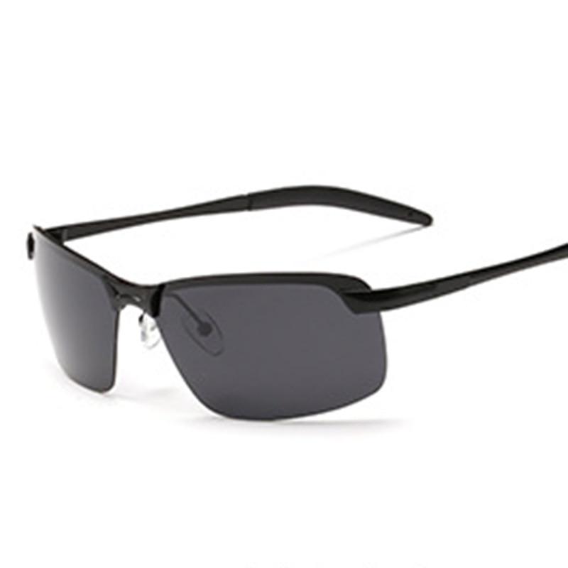 Mode 2019 Sommer Hohe Qualität Photochrome Sonnenbrille Polarisierte Objektiv Uv400 Aluminium Magnesium Rahmen Fahren Brille Für Männer