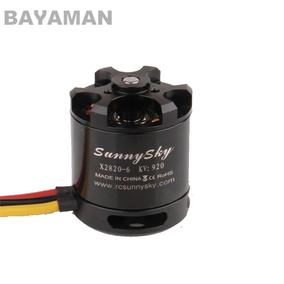 2pcs Sunnysky X2820 800KV 920KV 1100KV Brushless Motor for Multicopter Drones