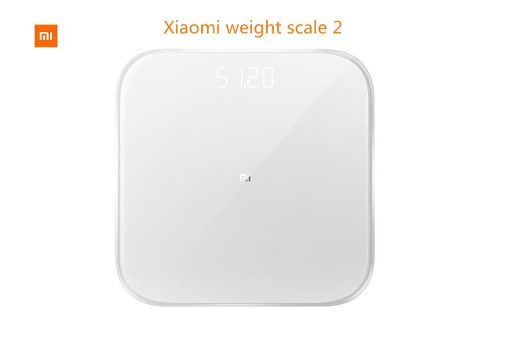 Original xiaomi Mi Smart Weighing Scale Xiaomi Digital Scale electronic Scale xiaomi weight scale 2-in Bathroom Scales from Home & Garden    1