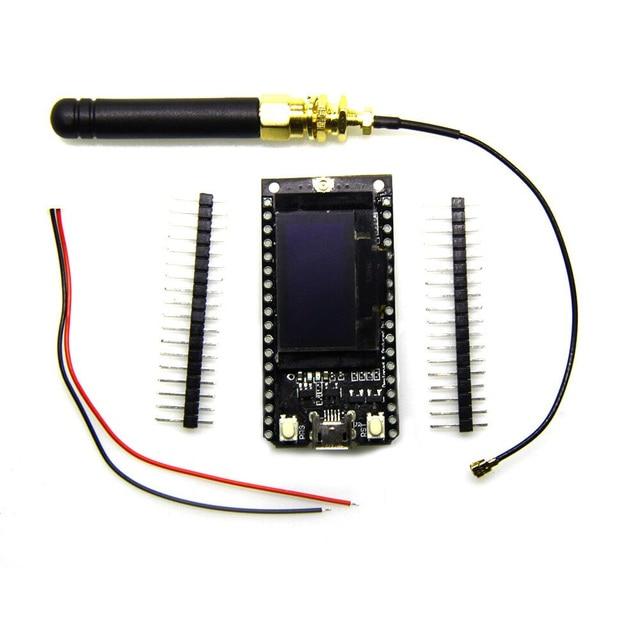 TTGO 868MHz/915MHz SX1276 ESP32 LoRa 0.96 Inch Blue OLED Display Bluetooth WIFI Lora Kit 32 Module IOT  Board for Arduino