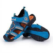 2019 spring new children's shoes men and women big children comfortable sandals summer children's baotou casual beach shoes