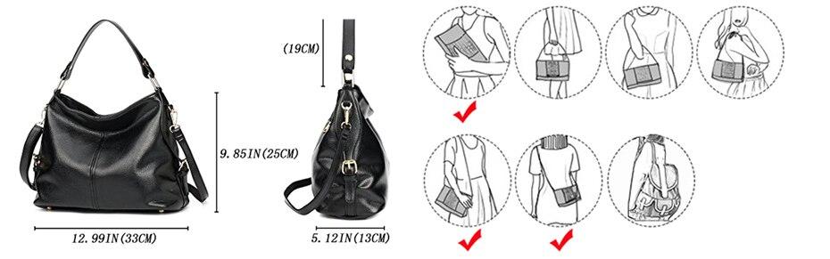 Bolsa de Ombro bolsas femininas de Couro
