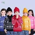 Novo Inverno Crianças Meninos Meninas Camisola De Lã Knited Camisolas Dos Miúdos Adolescentes Crianças Bebê Outwear Quente Roupas De Estilo de Natal 1-12Year