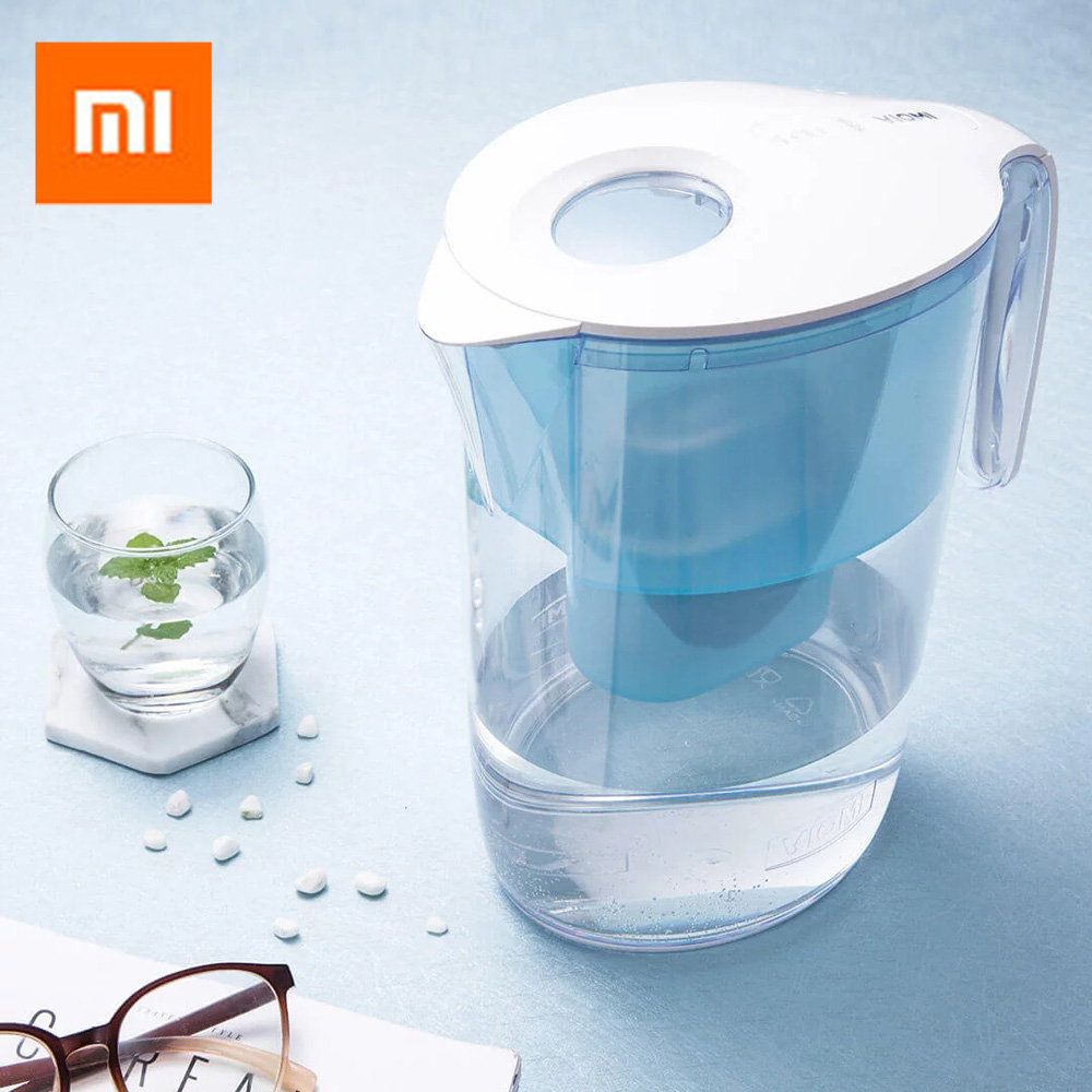 Xiaomi VIOMI 3.5L Hyper-Energy Water Filter Pitcher Filtration Dispenser Cup With Lid Spout Filter Xiaomi Water Filter Household botticelli limited низкие кеды и кроссовки