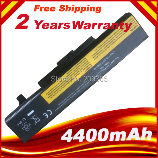 New 6 Cells Laptop Battery FOR LENOVO G580 Z380 Z380AM Y480 G480 Y580 G580AM L11S6Y01 L11L6Y01 lmdtk new 9 cells laptop battery 121500049 for lenovo g500 y485n series ideapad g580 y580 y480 z480 y580n