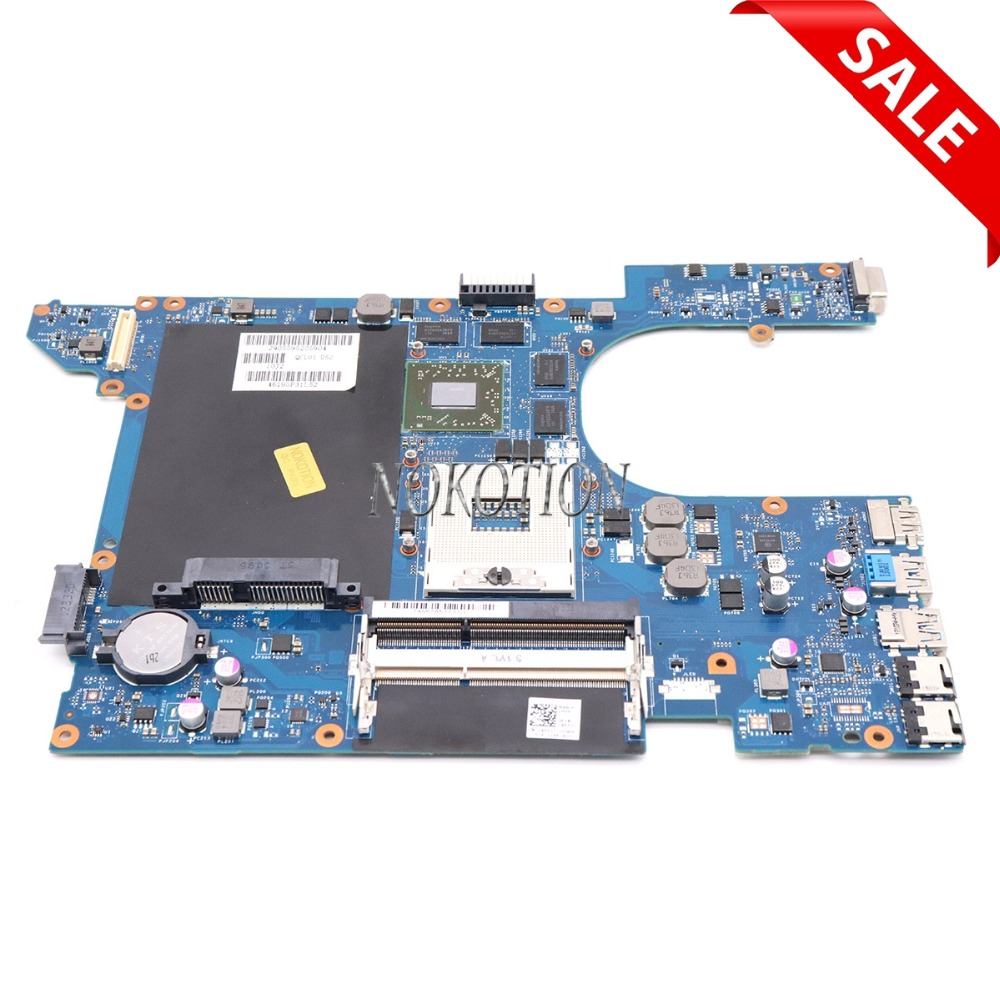 NOKOTION laptop motherboard Para dell Inspiron 15R 7520 DDR3 QCL00 LA-8241P CN-04P57C 4P57C Radeon HD 7730 m HD4000 placa Principal