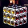 3X3X3 Velocidade puzzles Cristal Mágico agita professional Cubos cubos de aprendizagem & educational brinquedos clássicos Para A Coleção amantes