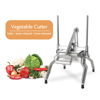 Vegetable Cutter Multi function Lettuce Slicing Dicing Shredding Machine Commercial Stainless Steel Blade Manual Food Processor|Manual Slicers| |  -