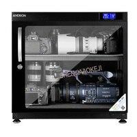 Electronic moistureproof box AD 80HC LED drying oven 80L SLR storage lens moisture proof camera drying Storage Cabinet 220V
