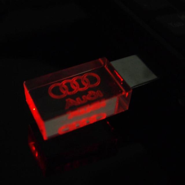 USB 2.0 Memory Drive With Audi Logo