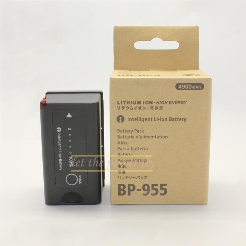 4900mAh BP 955 BP955 font b Battery b font for Canon EOS C100 C300 XHG1 XHA1