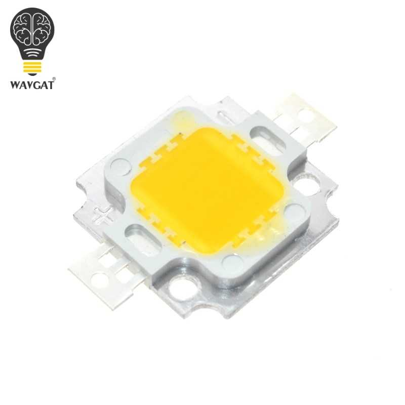 10 Pcs 10W LED 10W Warm White 800-900LM LED IC SMD Lampu Lampu Siang Hari Putih Daya Tinggi LED 3000 K-3200 K