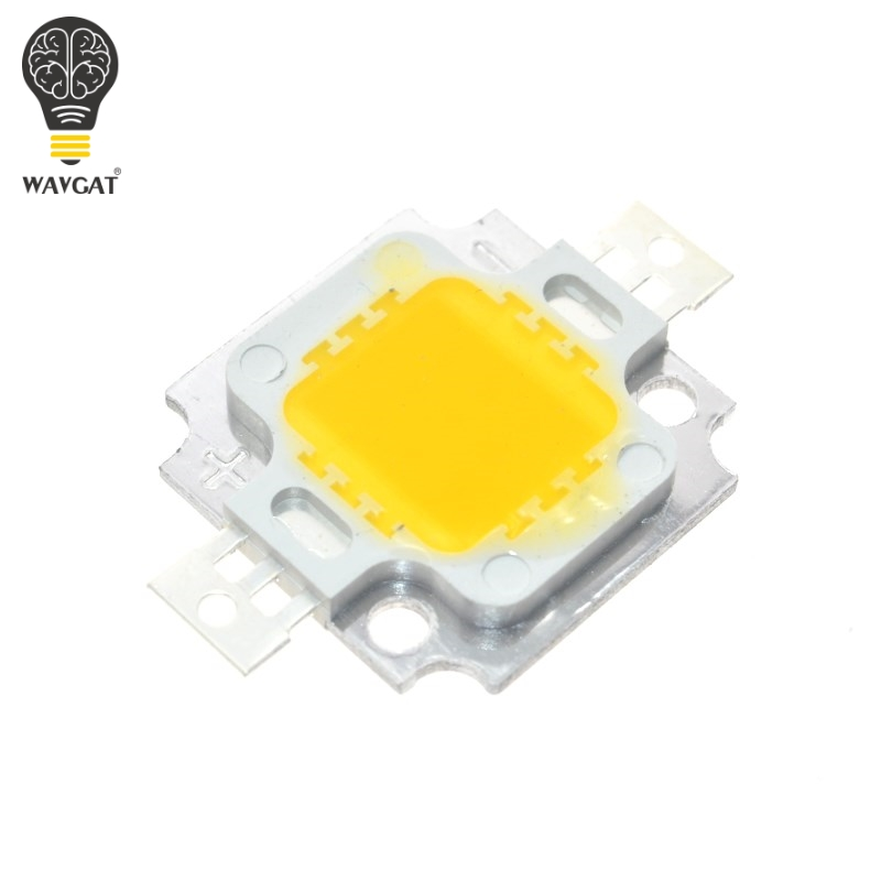 Diodes Active Components 10pcs 10w Led 10w Warm White 800-900lm Led Bulb Ic Smd Lamp Light Daylight White High Power Led 3000k-3200k Lustrous