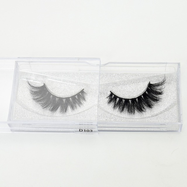 Visofree Eyelashes 3D Mink Lashes High Volume Handmade Mink False Eyelashes Thick Full Strip Lashes Cruelty Free cilios posticos 5