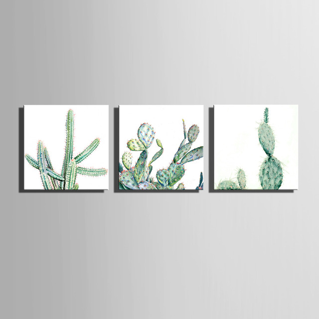 2017 Modern HD Printed Cactus Decoration Paintings Home Decor On Canvas  Wall Art Pictures Print Poster