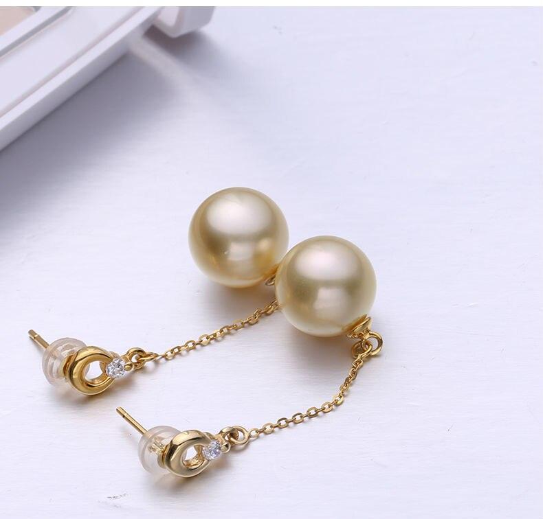 gold pearl earrings 55