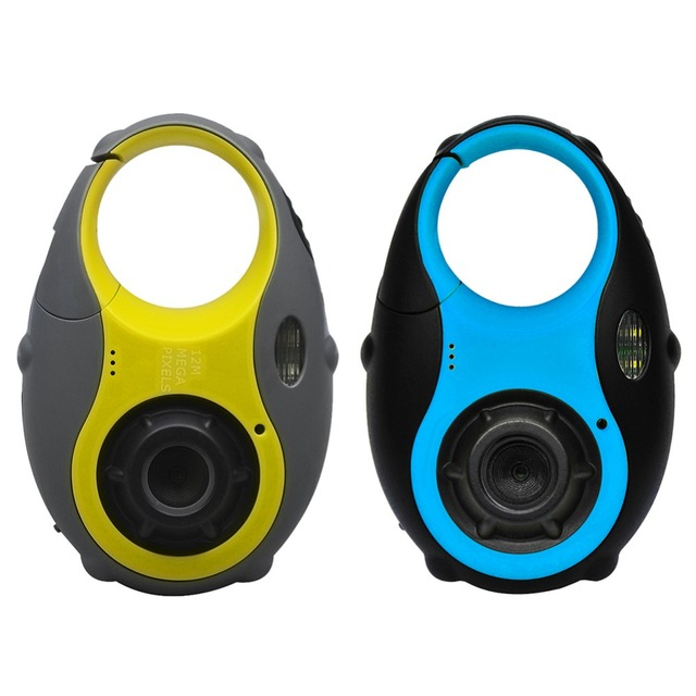 New 1.5inch Kids Camera Small Peas Children's Camera HD 5.0 Mega pixels Digital Camera Shock-Absorbent Funny Cartoon Mini Camera