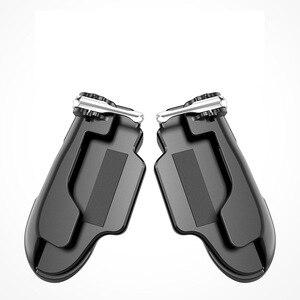 Image 5 - PUBG נייד הדק/בקר אש כפתור המטרה מפתח נייד משחקים גריפ ידית L1R1 Shooter ג ויסטיק עבור Ipad Tablet & טלפון 2in1