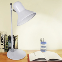 T SUNRISE Indoor White Table Lamp Max 60w Desk Lamp 360 Degree Rotation Portable LED Book Light For Reading Study Room Office