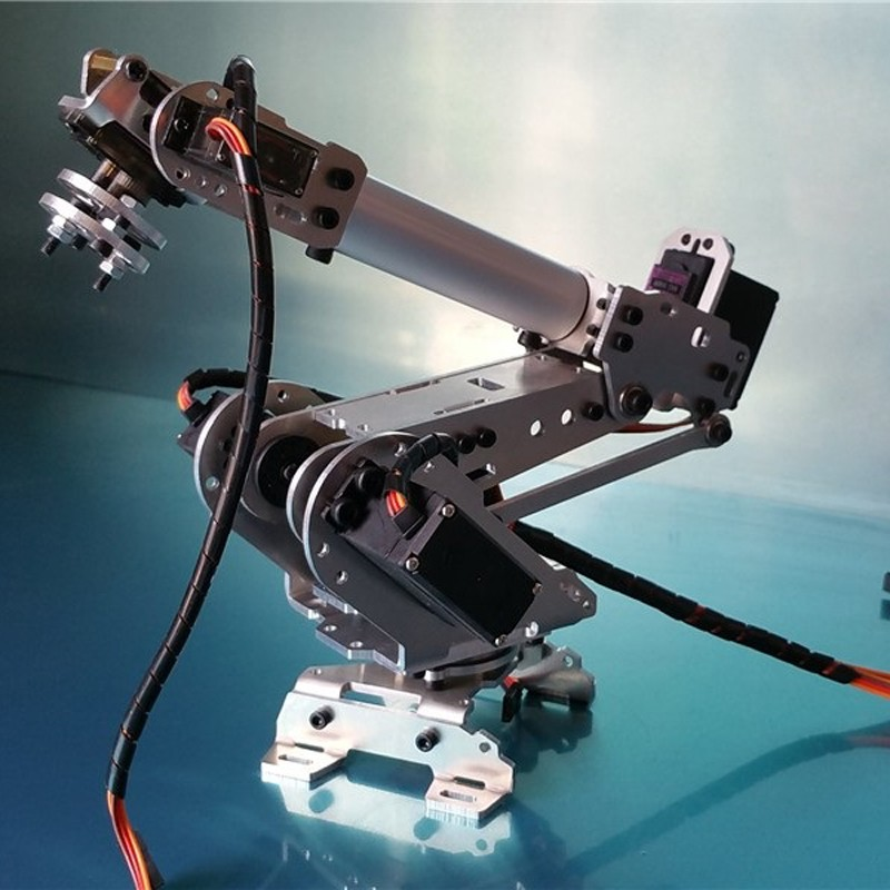 6 DOF CNC aluminum robotic arm (5)