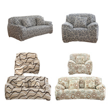 1/2/3/Sitz Plüsch Flexible Stretch Sofa Abdeckung Große Elastizität Couch Cover Schutzhülle Möbel Protector cubierta para sofa