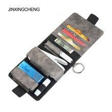 JINXINGCHENG אופנה 7 צבעים עבור iqos 3.0 מקרה פאוץ תיק מגן מחזיק כיסוי ארנק מקרה עבור iqos 3 duo עור מפוצל מקרה
