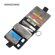 JINXINGCHENG Fashion 7 Colors for iqos 3.0 Case Pouch Bag Protective Holder Cover Wallet Case for iqos 3 duo PU Leather Case