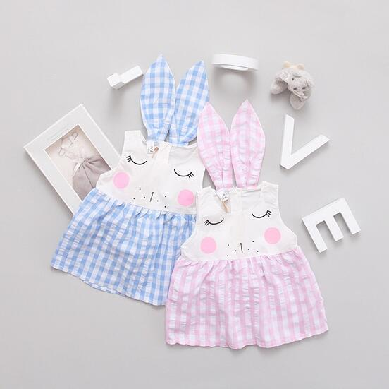 b337dfce6936 New Born Baby Dress Summer Cotton Babys For girls Summer Kids Infant Clothes  Baby Girls