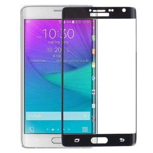 Image 4 - Оригинальная 3D изогнутая поверхность для Samsung Galaxy Note Edge, полное покрытие экрана, Взрывозащищенная пленка из закаленного стекла для N9150