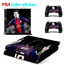 Hot Sale FC46 for PS4 Skin 1 Set Body Skins For Play station 4 Sticker Decal Cover + 2 Controller Sticker ps4 accessories